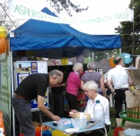 2014 ACCG stall at the Fete